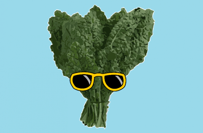 Could kale be the key to a perfect GPA ?